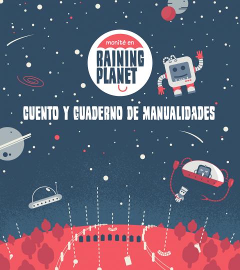 Cuento Y Cuaderno De Manualidades Raining Planet (Formato Electrónico)