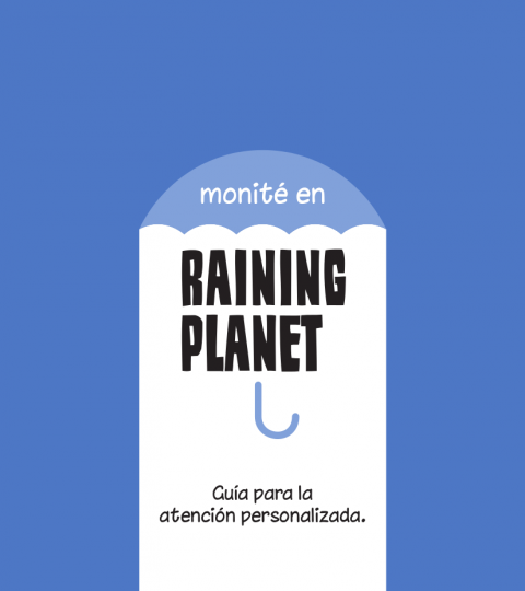 Monité Raining Planet Pack Clínicas Grupal