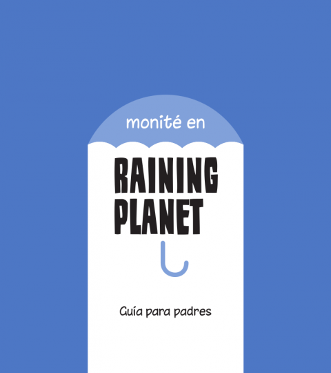 Monité Raining Planet Pack Padres Y Tutores