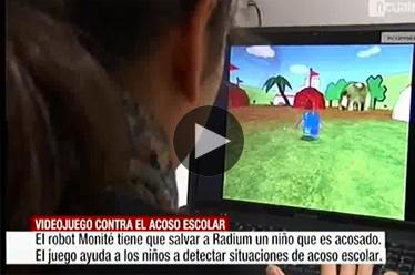 Noticias Cuatro - Un videojuego contra el acoso escolar